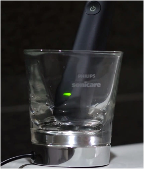 sonicare diamondclean HX9352 charging method