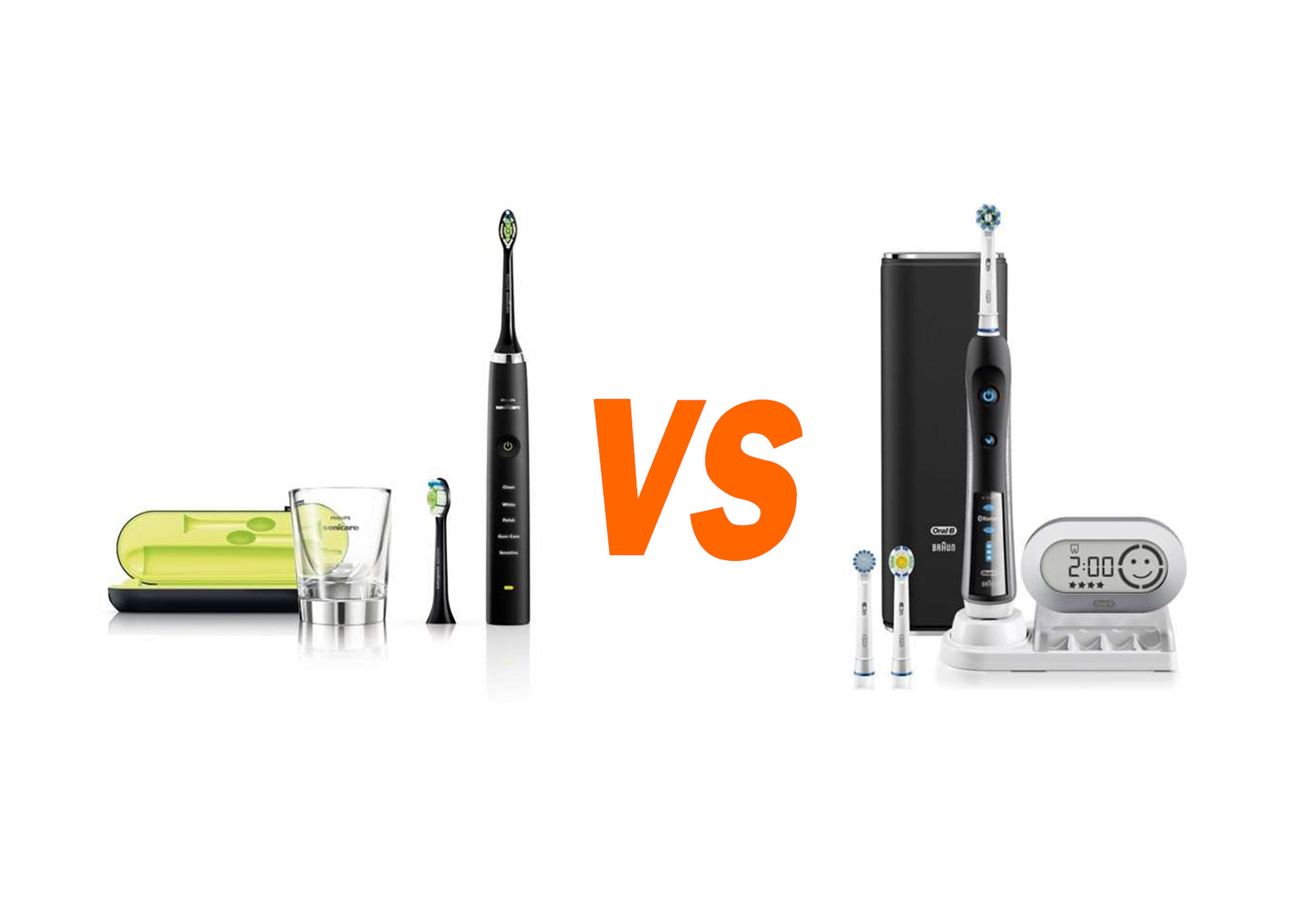 Sonicare DiamondClean VS Oral-B Pro 7000