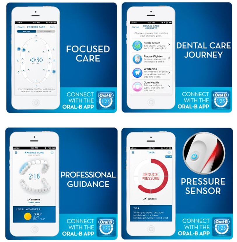 Features of Oral-B App