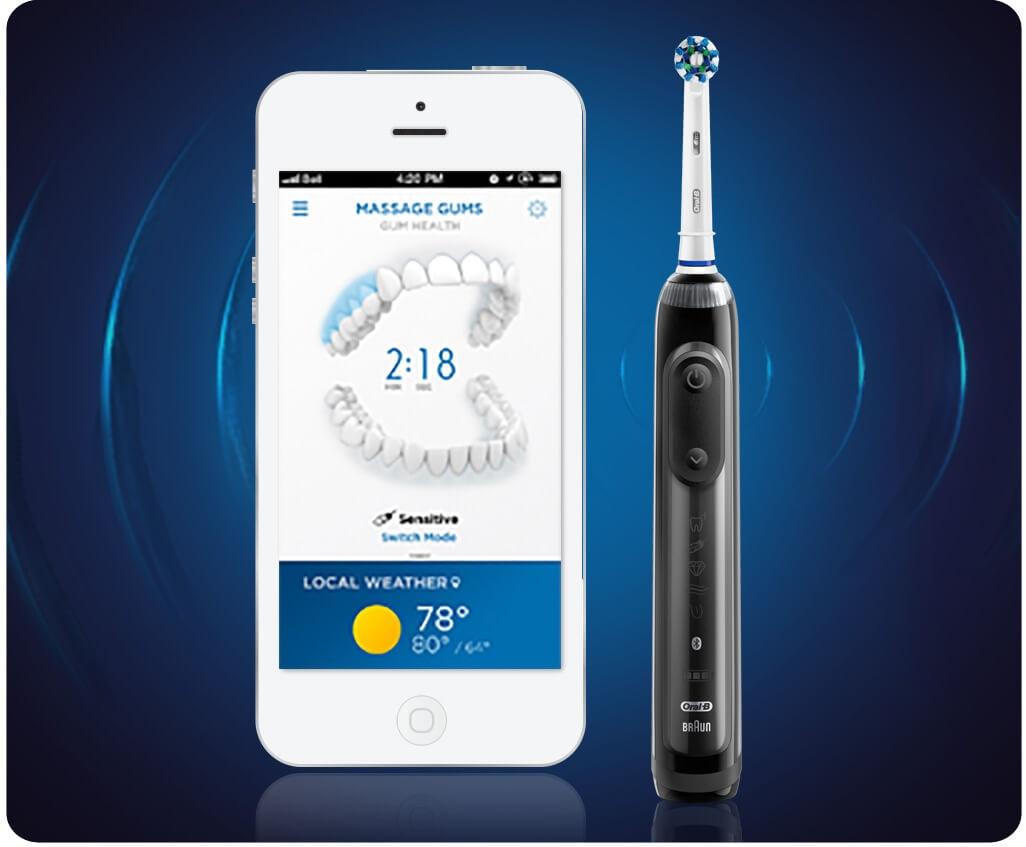 Oral-B pro 8000 Real-Time Feedback