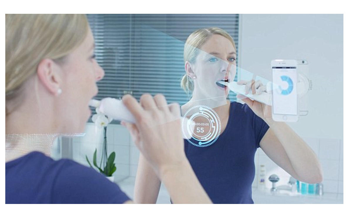 oral b smart phone holder