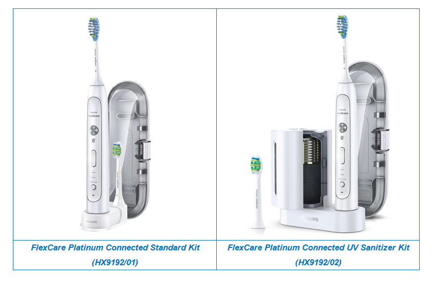 FlexCare Platinum Connected Standard Kit And UV Sanitizer Kit