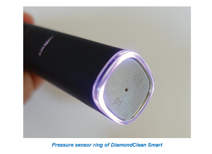 Pressure sensor ring of DiamondClean Smart
