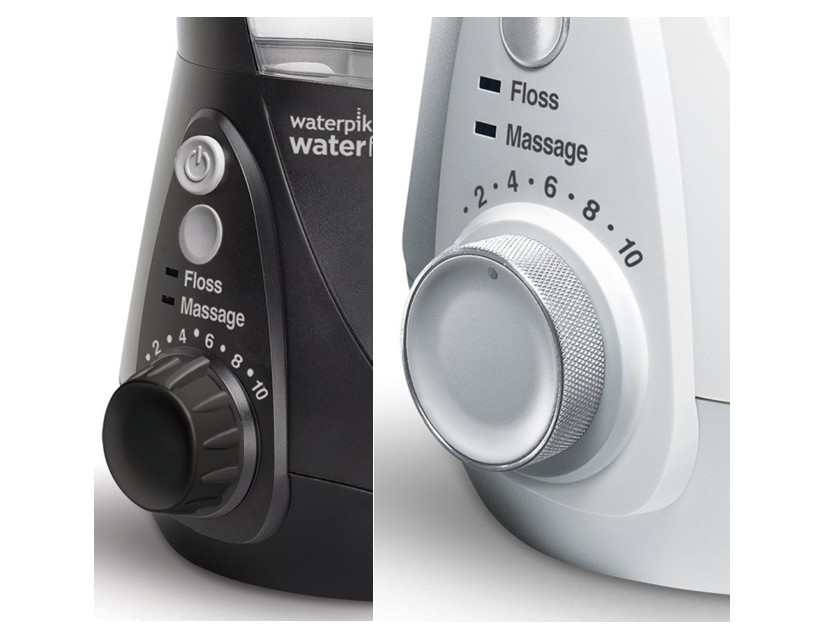 Different front plate of WP 660 (left) and WP 670 (right)
