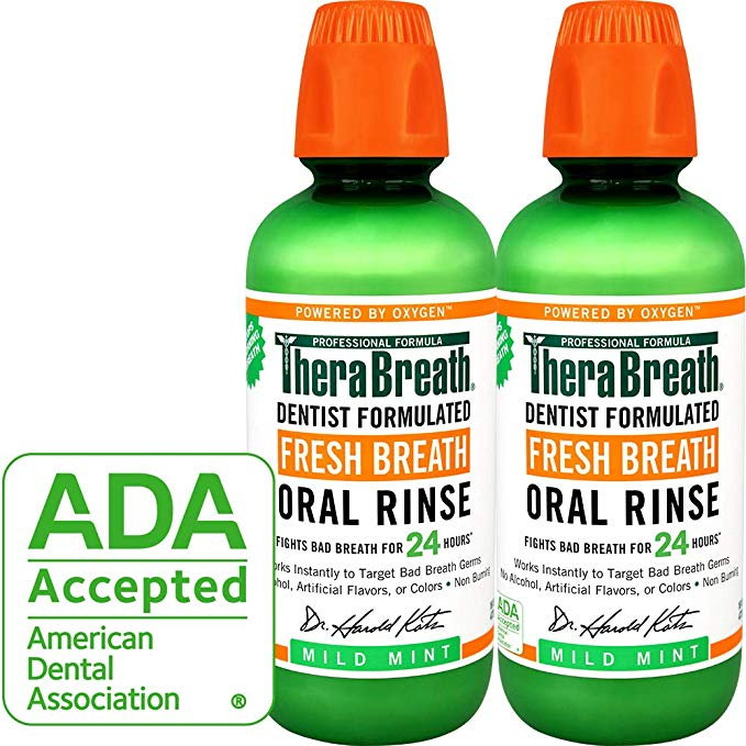 TheraBreath – Fresh Breath Oral Rinse